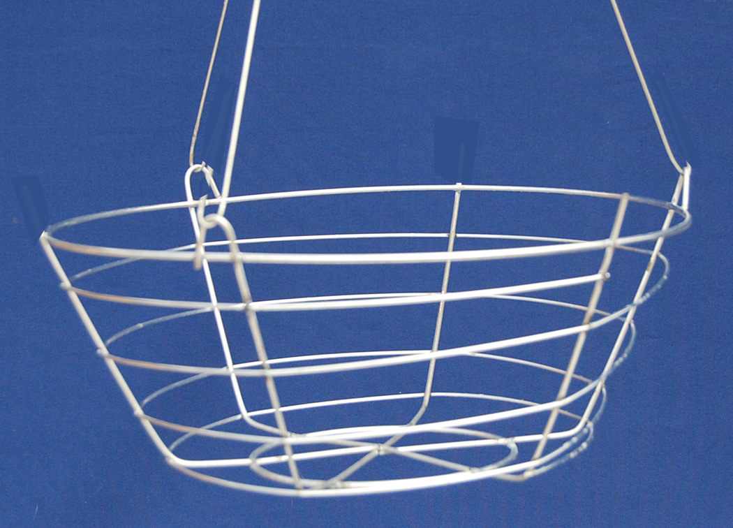 Shallow Wire Basket with hanger - 14\
