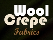 Wool Crepe Fabric