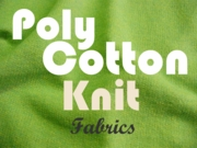 Poly Cotton Knit