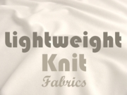 Lightweight Knit