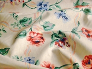 Cotton Floral Print Fabric # UU-37