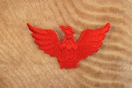 Red Eagle Iron On Applique # appliques-1070
