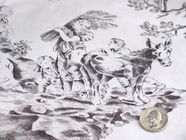 Toile de Jouy Prints Fabric #K-183