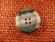 Italian Coat Buttons Wholesale (36pcs) 4 holes Italian Buttons 1 1/8 inches Multi Grey #bag-355