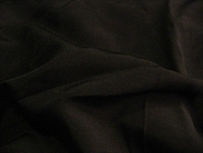 Black Fine Ribbed Fabric UU-418