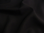 Dark Navy Worsted Wool Blend Fabric UU-727
