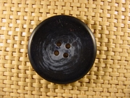 Italian Coat Buttons Wholesale (36pcs) 4 holes Italian Buttons 1 1/4 inches Navy #bag-376