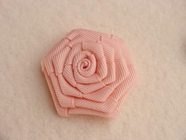 Pink Flower Applique #AP-285
