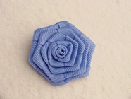 Blue Flower Applique #AP-288