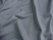 Blue Grey Nylon Dressy Knit Fabric UU-614