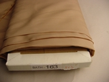 25 yards French Beige Lining Fabric #BATH-163