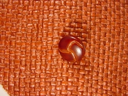 Italian Coat Buttons Wholesale (48pcs) Faux Leather Shank Buttons from Italy 5/8 inch Brown #bag-299