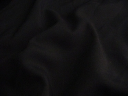 Dark Navy Wool Blend Fabric # 3F-237