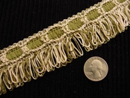 Fancy Loop Fringe Trim Made in Italy Vintage Drapery Braid Trim