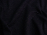 Navy Cotton Linen Blend Jersey Knit Fabric # NV-225