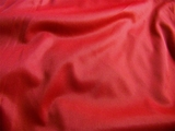 "110"" Extra Wide Red Sheer Tricot Fabric 1 Yard"