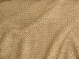 Natural Beige Novelty Designer Knit Fabric
