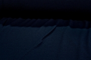 Designer Sheen Navy Soft Novelty Knit Fabric #NV-727