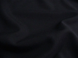Dark Navy Wool Blend Dress Fabric UU-436
