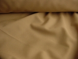 Khaki Washable Wool Blend Fabric #WL-213