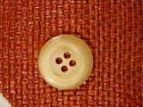 Italian Coat Buttons Wholesale (36pcs) Designer 4 hole Buttons from Italy 1 1/8 inches Honey #bag-297