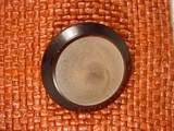 Italian Coat Buttons Wholesale (12pcs) Designer Shank Buttons 1 1/2 inches Chocolate Brown #bag-304