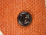 Italian Coat Buttons Wholesale (36pcs) Designer 4 hole Buttons from Japan 1 inch Black #bag-325