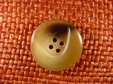 Italian Coat Buttons Wholesale (36pcs) 4 holes Italian Buttons 1 1/8 inches Camel #bag-341