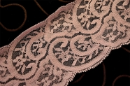 "3 1/4"" Light Plum Lace Trim #239"