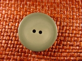 Italian Coat Buttons Wholesale (36pcs) 2 holes Designer Buttons 1 1/8 inches Sage Green #bag-251