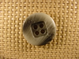 Italian Coat Buttons Wholesale (36pcs) 4 holes Italian Buttons 1 1/8 inches Grey #bag-269