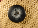 Italian Coat Buttons Wholesale (36pcs) 2 holes Italian Buttons 1 1/4 inches Navy #bag-270