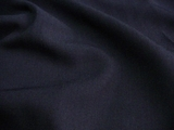 Navy Wool Blend Gabardine Fabric # 3F-263