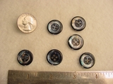 100 pieces Designer Button #-BULKSS-17