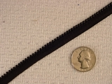 Black Beaded Trim Edging