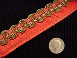 Italian Fringe Trim Made in Italy Vintage Drapery Fringe Decorative Braid Trim
