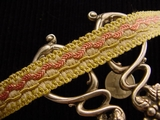 Fancy Decorative Braid Trim Made in Italy Vintage Braided Upholstery Trim