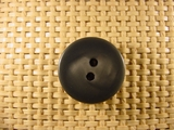 """Italian Thick Coat Buttons Wholesale (36pcs) 7/8"""" Dark Grey 2 Hole Sewing Button"""