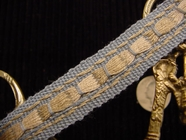 Italian Woven Trim Made in Italy Vintage Decorative Trim