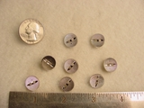 100 pieces Designer Button #-BULKSS-5