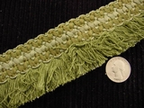 Braided Fringe Trim Made in Italy Vintage Drapery Fringe Decorative Braid Trim