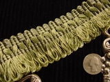 Loop Fringe Trim Made in Italy Vintage Drapery Braid Trim