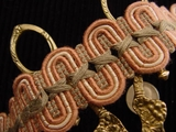 Fancy Scroll Braid Trim Made in Italy Vintage Braided Trim