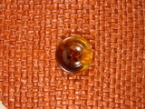 Clear 4 hole Buttons 3/4 inch Golden Brown #Bpiece-280