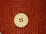 Italian 4 hole Buttons 7/8 inch Cream #Bpiece-317