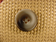 Italian 4 hole Buttons 1 inch Gray #Bpiece-151