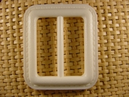 Buckle 1 1/2 inches X 1 3/4 inches Off White #Bpiece-152