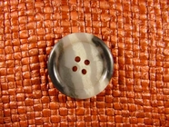 Italian 4 hole Buttons 1 inch Multi Gray #Bpiece-156