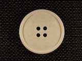 Italian Coat Buttons Wholesale (36pcs) 4 holes Designer Buttons 1 1/4 inch Ivory #bag-5