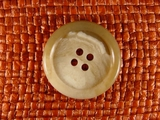 Italian Coat Buttons Wholesale (45pcs) 4 holes Italian Designer Buttons 1 1/8 inch Earthtone #bag-81